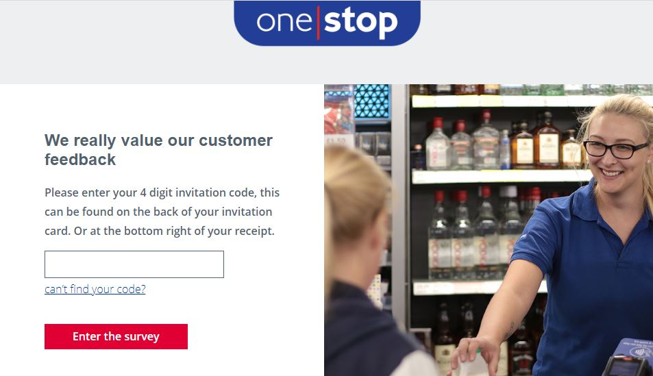 One Stop Stores survey